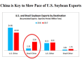 This chart from USDA's Oilseeds: World Markets and Trade report from Friday shows how China increased soybean purchases from Brazil by 7.19 million metric tons (264 million bushels) in the first quarter of 2017-18 from a year ago while cutting purchases from the U.S. by 5.37 mmt (197 mb). (Chart courtesy of USDA)