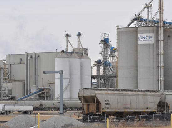 Archer Daniels Midland reportedly is weighing a takeover of Bunge Ltd. (DTN photo by Chris Clayton)