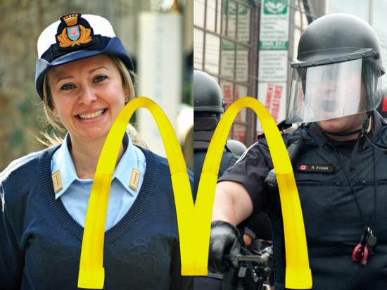McDonald's seems to be playing the roles of both good cop and bad cop when it comes to dealing with the beef industry. (DTN photo illustration by Nick Scalise)