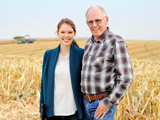 The best yields on the Frederickson farm have risen by 100 bushels per acre in the past 10 years. (DTN/Progressive Farmer photo by Walters Photographers)