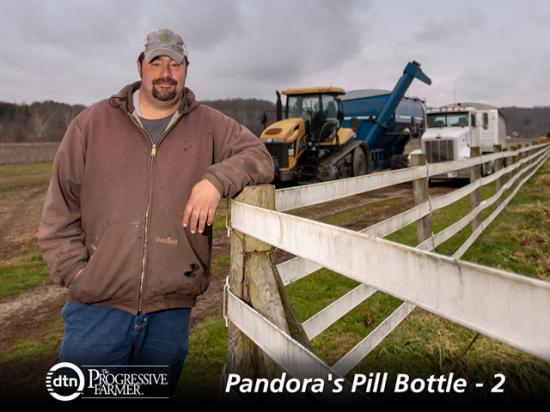 Indiana farmer Doug Payne has been clean from a heroin addiction since 2007. (DTN photo by David Charrlin)