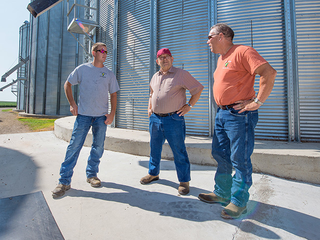 Family members who participate in the business because they feel a great desire to contribute do far better than those who return because they have no other plans. (Progressive Farmer photo by Jim Patrico)