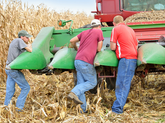Part of keeping employees engaged is having the right tools and resources so employees can perform their jobs and conduct in-the-moment repairs. (DTN/Progressive Farmer file photo)