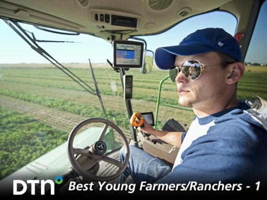Brett Arnusch's job is to make legible the data collected on his Colorado family farm. (DTN/Progressive Farmer photo by Joel Reichenberger)