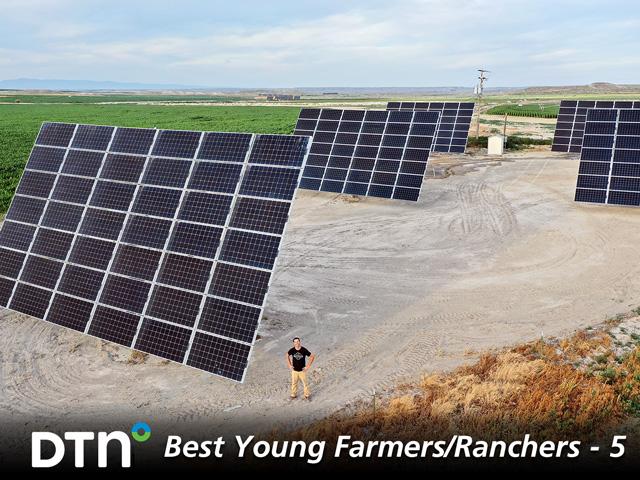 Farmer Uses Solar Energy To Turn Idaho Desert Green And Productive