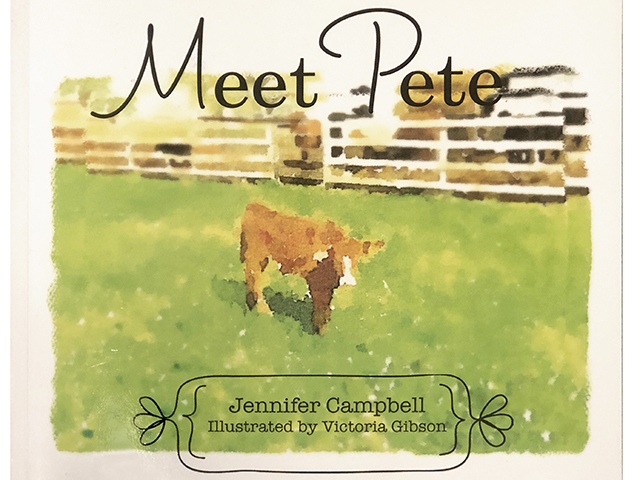 """Meet Pete"" by Jennifer Campbell, illustrated by Victoria Gibson (Progressive Farmer image provided by Jennifer Campbell)"
