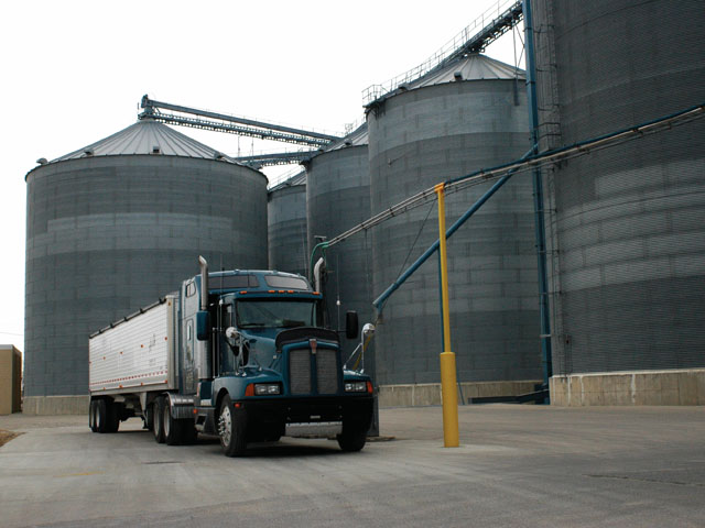 Unsold grain can be donated to a charity, but farmers should be aware of the best way to do it to avoid taxes. (DTN file photo)