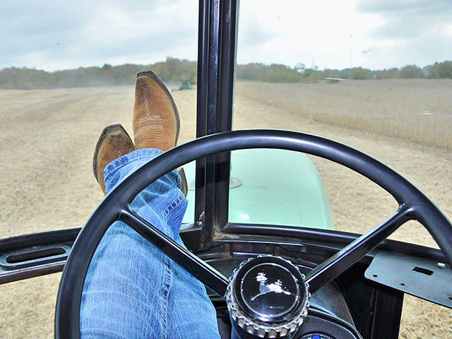 Cab therapy can help encourage a more productive mind. (Progressive Farmer photo by Jennifer Campbell)