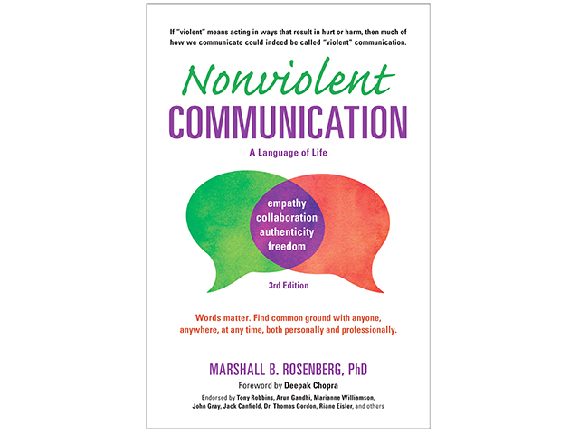 Nonviolent Communication by Marshall B. Rosenberg, PhD (Progressive Farmer image used with permission of PuddleDancer Press)