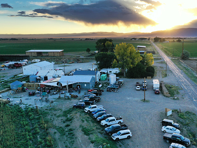 "Colorado Farm Brewery, outside Alamosa, Colorado, takes ""local ingredients"" to the extreme, brewing beers made entirely from ingredients grown on the farm. (DTN/Progressive Farmer photo by Joel Reichenberger)"
