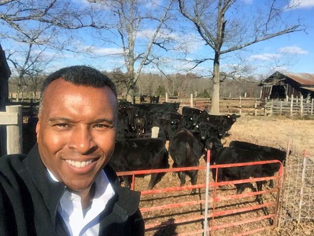 Virginia cattleman Basil Gooden says meat shortages could lead to long-term changes in how people buy and consume beef. (Progressive Farmer image courtesy of Basil Gooden)