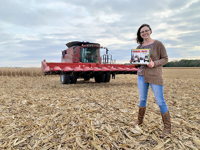 Kansas children's book author Lindsay Metcalf takes a page out of agricultural history. (Progressive Farmer image provided by Lindsay Metcalf)