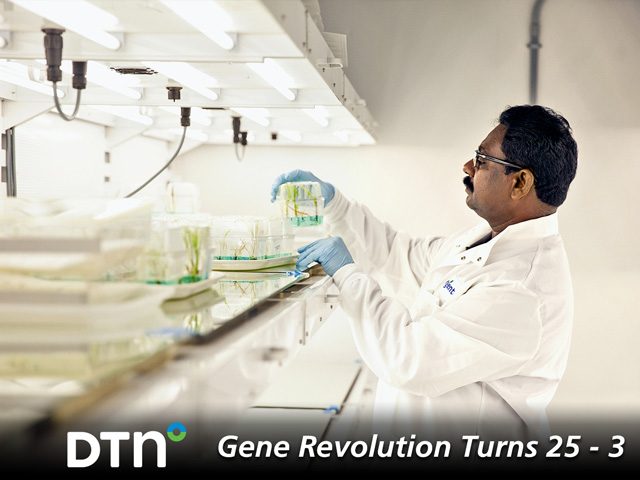 Scientists at Syngenta use multiple technologies to improve crop yields. (Photo courtesy of Syngenta)