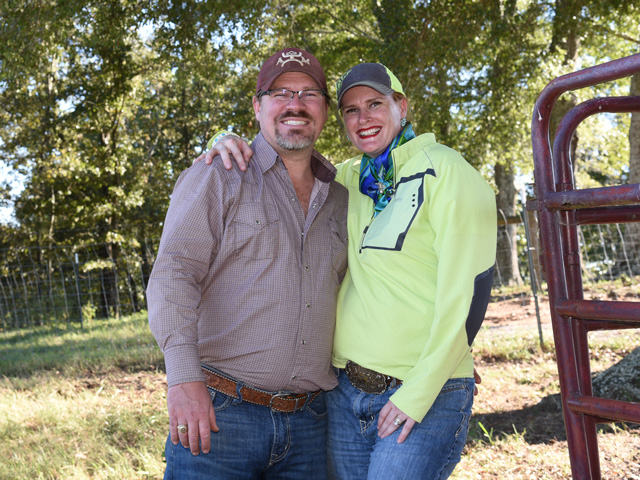 Scott and Sara Die-McElfresh have only been in direct beef sales since 2019, but they've already made a big impact. (Progressive Farmer photo by Becky Mills)