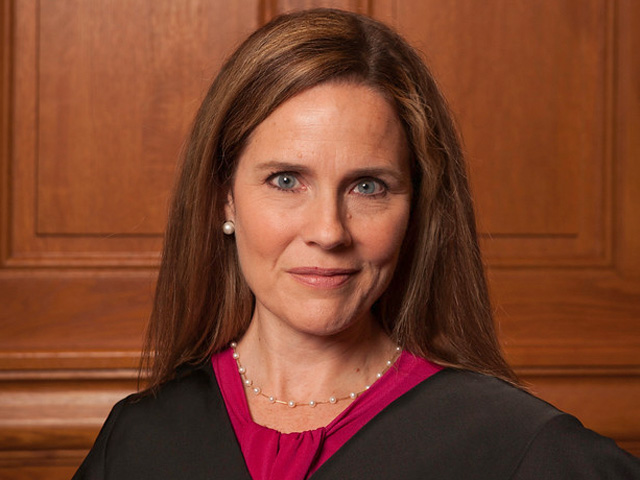 Supreme Court nominee Amy Coney Barrett was asked about how she would approach environmental legal cases brought to the court if she was confirmed to the court. (Photo by Rachel Malehorn)