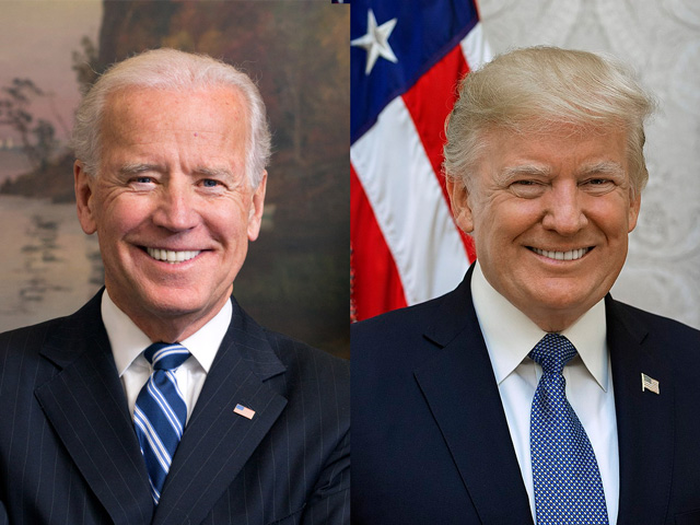 President Donald Trump leads challenger Joe Biden by 17 points in the latest DTN/Progressive Farmer Pulse of Rural America Poll, but rural America is not entirely happy with the president's performance. (DTN file photo)