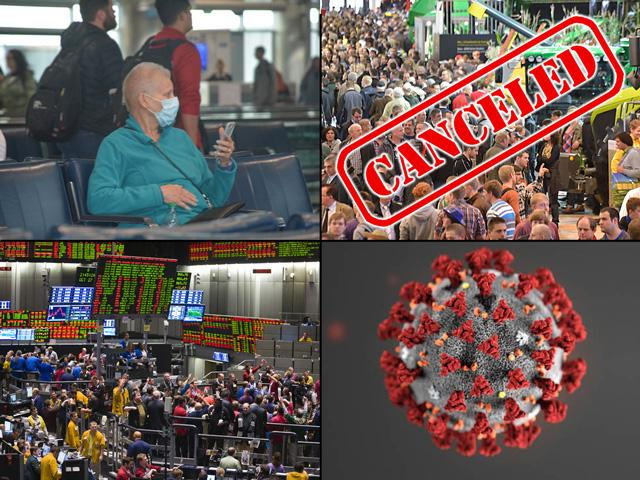 It was tough to find anything, this year or any other, that had more influence on life in general than the coronavirus pandemic. (DTN photo collage by Nick Scalise)