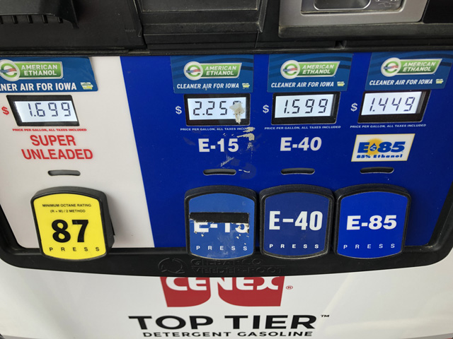 The ethanol industry is watching to see what EPA Administrator Andrew Wheeler does regarding the Renewable Fuel Standard before Wheeler leaves the agency next week. (DTN file photo)