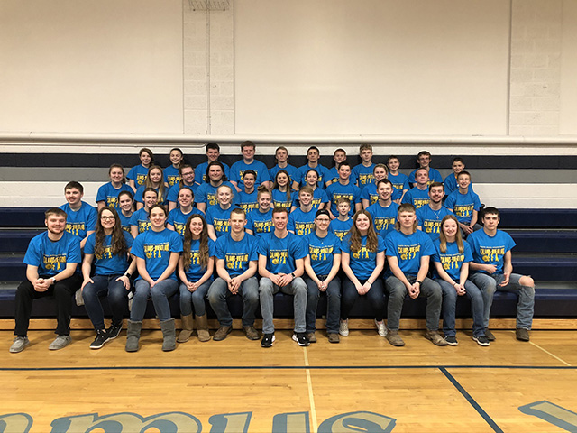 The Calamus-Wheatland Community School District FFA Chapter on Tuesday will live up to one of the most important parts of the FFA moto: living to serve. (Photo courtesy of the Calamus-Wheatland Community School District FFA Chapter)