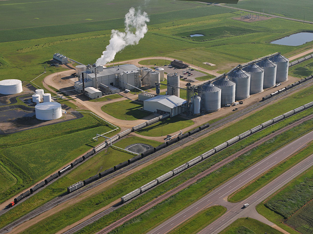 Ethanol plants continue to struggle to return to pre-COVID-19 economic shutdown levels. (DTN file photo)