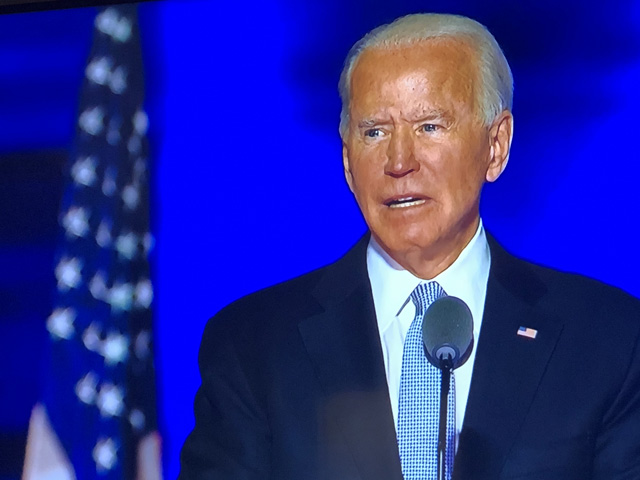 President-elect Joe Biden, shown speaking shortly after the November election, will have an easier time getting nominees through Congress with a Democratic Senate. Other policy changes also open up in areas such as taxes and renewable energy. (DTN file photo)