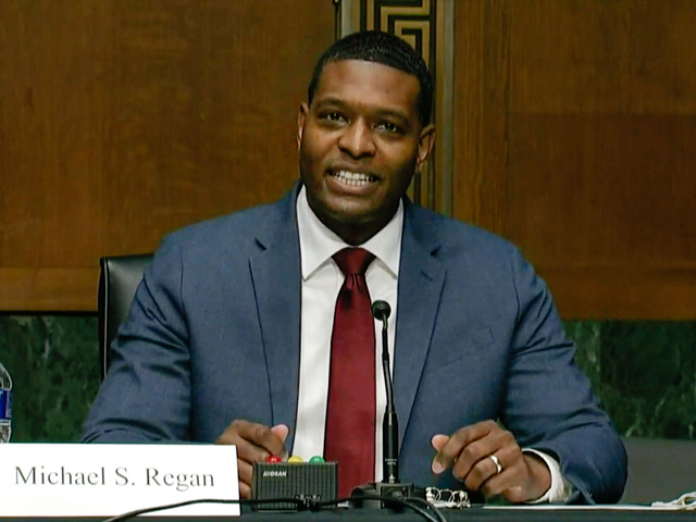 Michael Regan, nominee for administrator of EPA, testified before a Senate committee on Wednesday. (DTN photo capture from Senate hearing video feed)