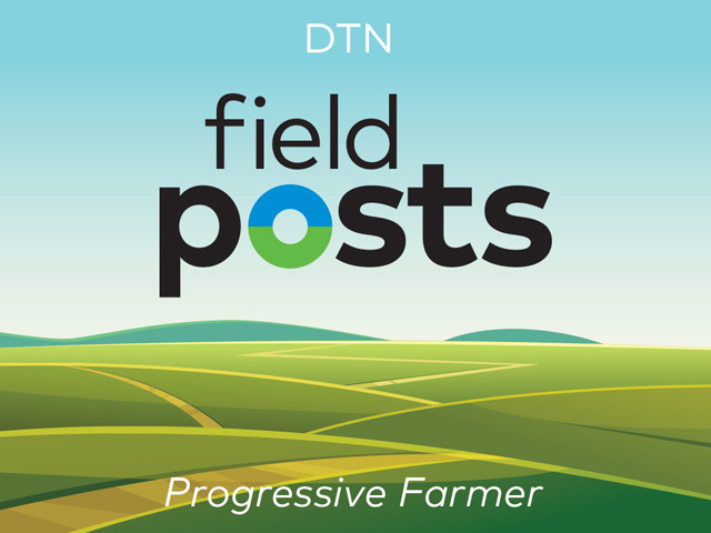 The hottest topics in agriculture, intelligently explored, are the focus of the new Field Posts Podcast, sponsored by Progressive Farmer Magazine and hosted by Sarah Mock. (DTN/Progressive Farmer graphic)