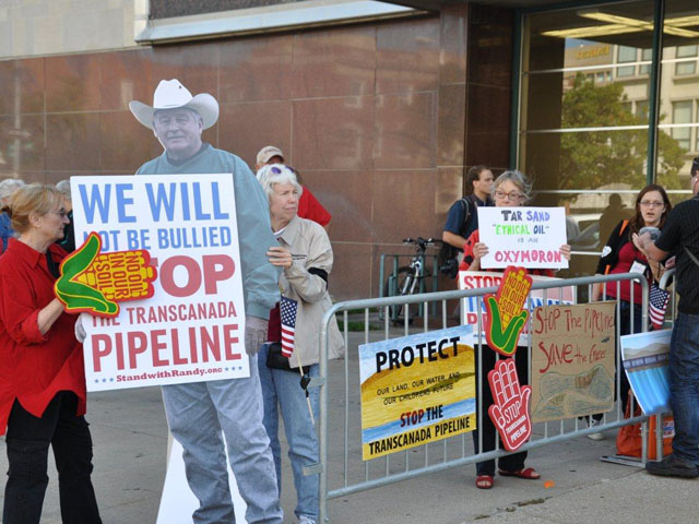 The U.S. District Court for the District of Montana has ordered an additional environmental study of the Keystone XL pipeline project. (DTN file photo by Chris Clayton)