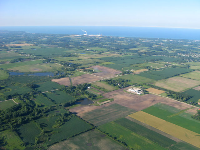 Stamp Farms, LLC, once operated about 46,000 acres southwest Michigan before filing for bankruptcy in 2012. (DTN file photo by Elaine Shein)