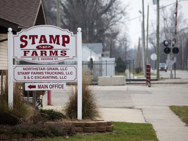 A single bidder appears close to taking over most of the 250 farm leases involved in the Stamp Farms LLC bankruptcy in Michigan. (Photo by Josh Mauser, courtesy MLive/Kalamazoo Gazette.)