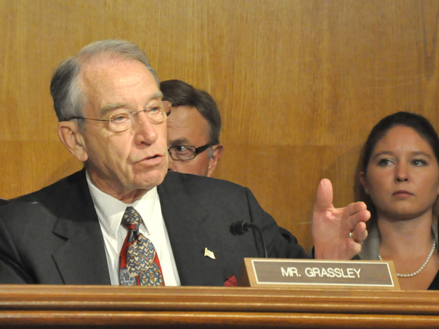 Sen. Charles Grassley, R-Iowa, announced Tuesday the Senate Judiciary Committee has scheduled a Sept. 20 hearing on mergers in agriculture. (DTN file photo by Nick Scalise)
