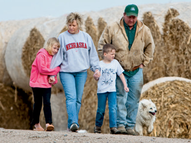 Soft assets are defined as values and philosophies you've inherited from your parents or grandparents, or the memories of past events that were important for your family. They also include the relationships you have with your siblings or cousins that now foster bonds between younger generations of family members. (DTN/The Progressive Farmer file photo)