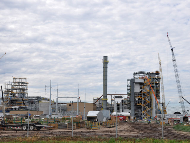 Abengoa operates a commercial-scale cellulosic ethanol plant designed to use wheat straw and switchgrass among other feedstocks in Hugoton, Kansas. (DTN file photo by Chris Clayton)