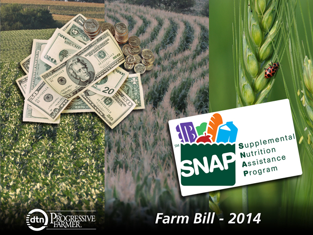 An agreement on the federal budget included a provision that would reopen the 2014 farm bill and allow USDA to renegotiate an average of $375 million a year in taxpayer savings in the contract between the federal government and crop insurance companies. (DTN photo illustration by Nick Scalise)