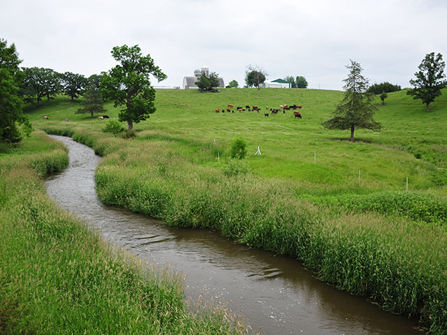 Water quality or drought are the major themes for 46 of the 88 cooperative conservation projects around the country that will split $225 million as part of the Regional Conservation Partnership Program. (DTN/The Progressive Farmer file photo)