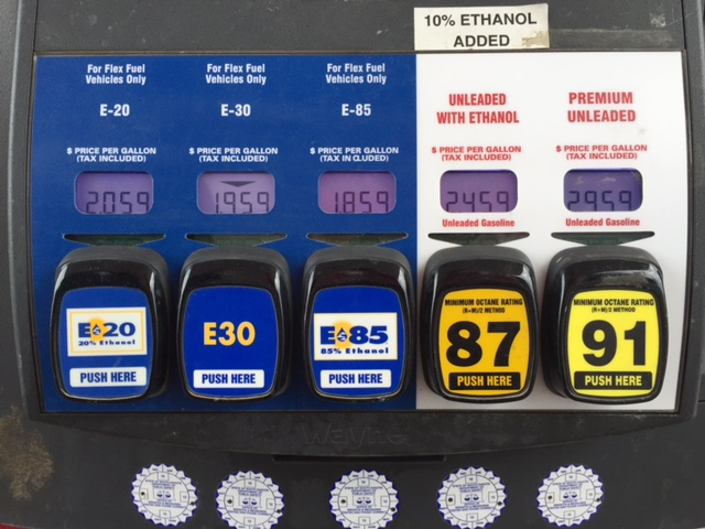 Biofuels groups are hoping for changes in Washington to expand the use of E15. (DTN file photo)