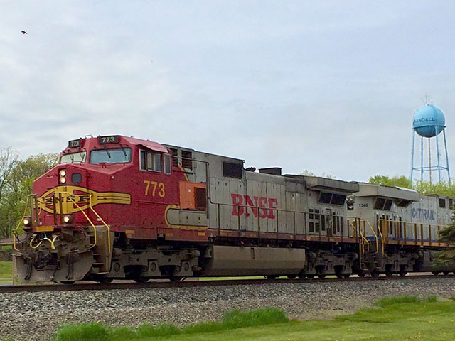 The House and Senate have agreed to extend the deadline for railroads to implement positive train control -- a safety system to monitor and control train movements -- on rail lines that carry hazardous materials, such as anhydrous ammonia. (DTN file photo by Mary Kennedy)