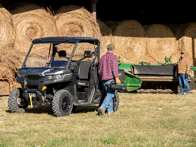 The newest side-by-side from Can-Am was designed with agriculture in mind. (Photo courtesy Can-Am)