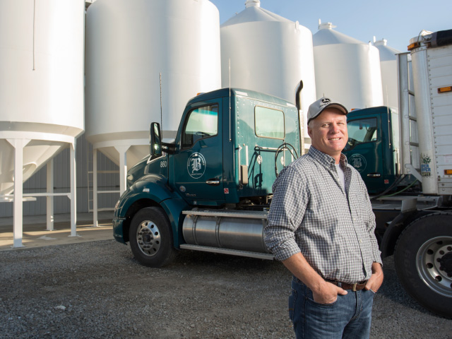 Ohio farmland renter Mark Bryant believes in full disclosure.