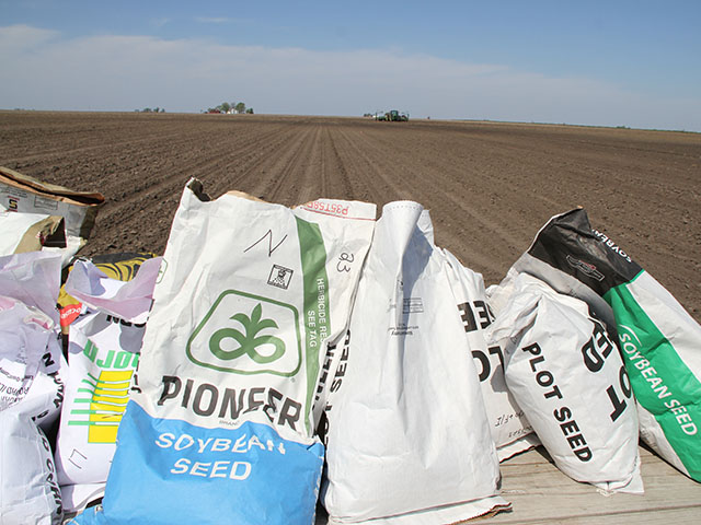 Will seed labels change as the seed industry goes through more consolidation. (DTN photo by Pamela Smith)