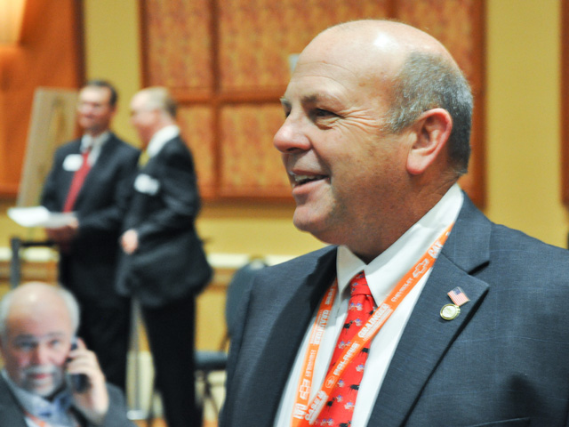 Georgia farmer Zippy Duvall was elected president of the American Farm Bureau Federation at the group's national convention in Orlando, Florida, on Tuesday. (DTN photo by Chris Clayton)