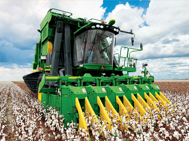 Ag producers can count on a minimum of $500,000 write-offs for Sec. 179 depreciation going forward. (Photo courtesy John Deere)