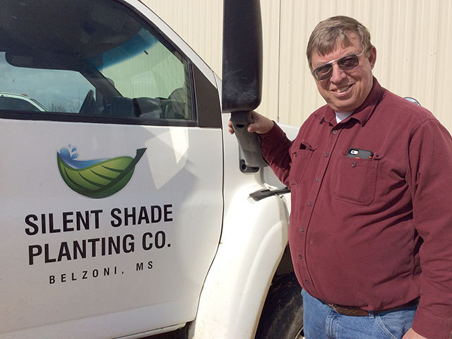 Delta farmer Willard Jack charts fertilizer basis to give him