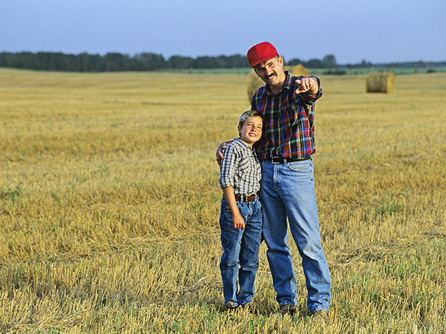 Sharing family legends and ethics helps bridge generational transfers. (Progressive Farmer photo by Thinkstock/Design Pics)