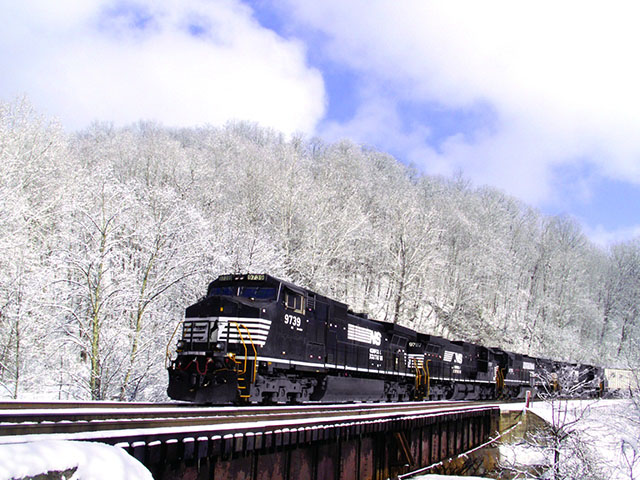 The Rail Safety Improvement Act of 2008 originally mandated that Positive Train Control systems be implemented across a significant portion of the nation's rail industry by Dec. 31, 2015. Late last year, Congress approved legislation extending the deadline to Dec. 31, 2018. (Photo courtesy of Norfolk Southern Corporation)