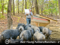 Andrew Crush raises heritage breed pigs that end up in high-end restaurants in Washington, D.C., and other East Coast cities. (DTN/The Progressive Farmer photo by Jim Patrico)