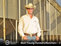 Cody Goodknight molds the business strategy of his Oklahoma dryland farm with 3,200 acres of grain crops and cotton, a commercial harvesting branch and a growing cattle enterprise. (DTN/The Progressive Farmer photo by Jim Patrico)