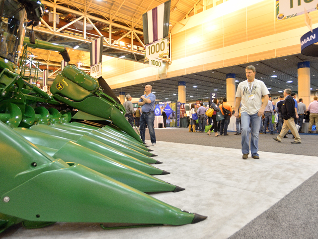 The 2016 Commodity Classic in New Orleans drew about 9,800 attendees. (DTN/The Progressive Farmer photo by Jim Patrico)