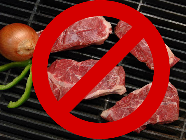 """Meatlessness"" seems to have become the cause celebre of the 21st century. (DTN/The Progressive Farmer photo by Jim Patrico; DTN photo illustration by Scott Kemper)"