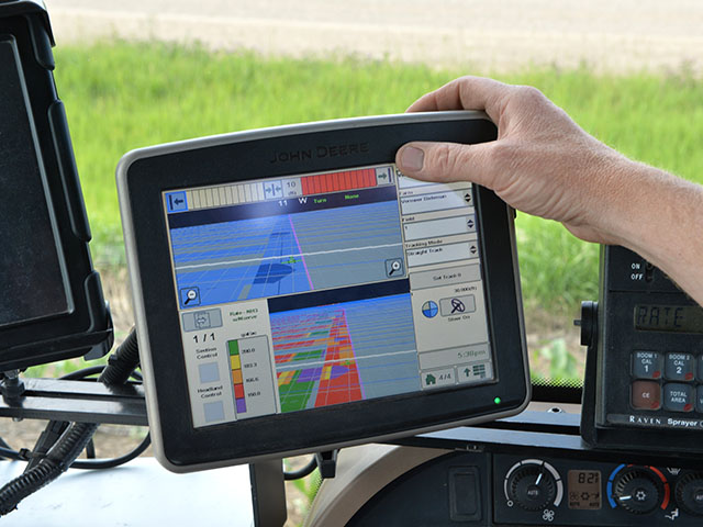 Many everyday farming tools are tied to speedy internet access, including wireless transmission of data from vehicle to the Cloud. Without access, the tools are worthless. (DTN/The Progressive Farmer photo by Bob Elbert)